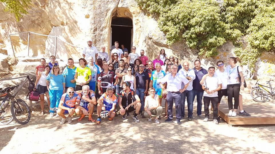 Conclusa la prima edizione di Appennino Bike Tour con l'arrivo ad Alia, appuntamento al 2018