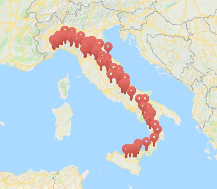 16-17 giugno si terrà la Giornata Nazionale #AppenninoBikeTour. Eventi, escursioni e sagre lungo tutta la Dorsale, da Nord a Sud Italia