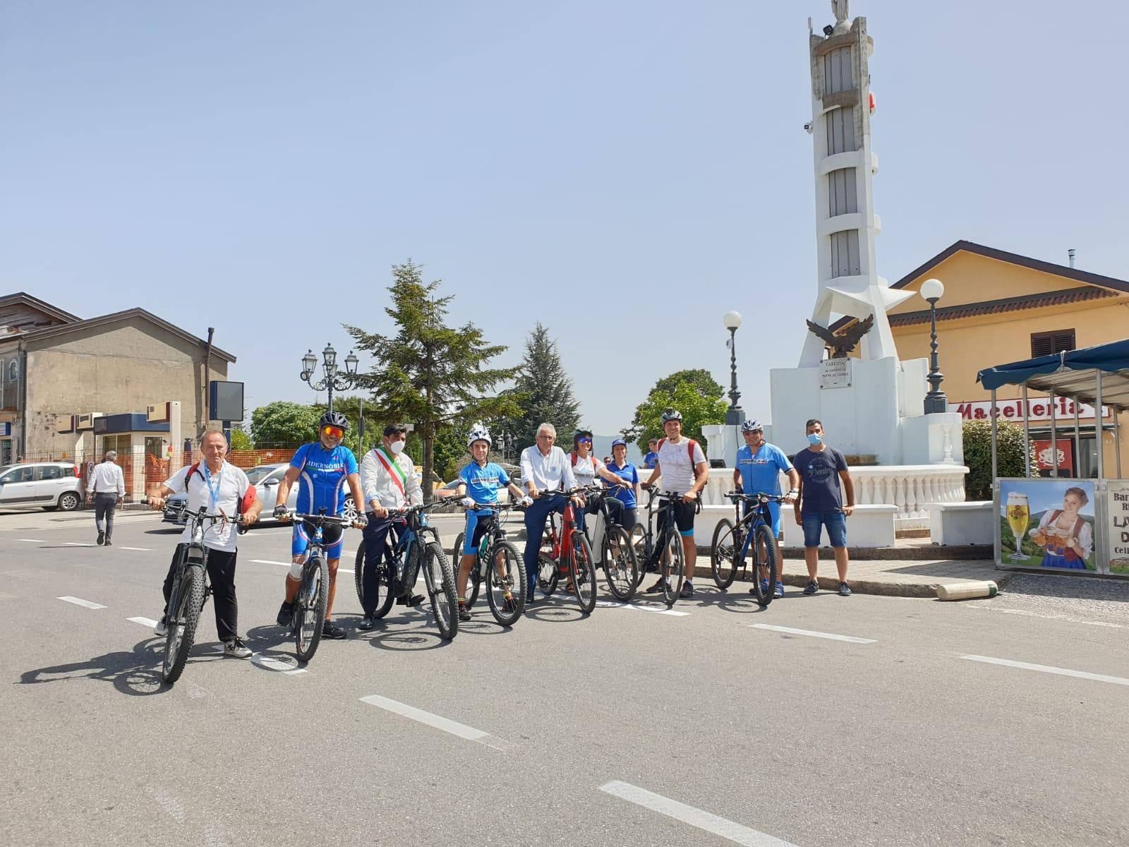 Appennino Bike Tour, la ciclovia dell'Appennino alla scoperta di Fabrizia e Santa Cristina d'Aspromonte
