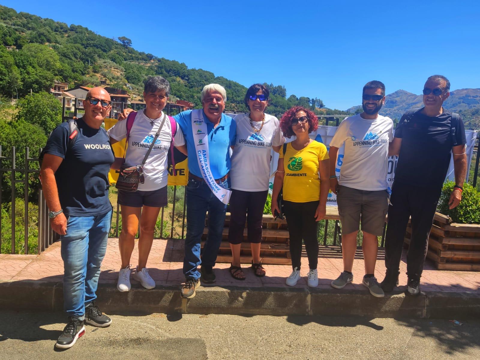 Appennino Bike Tour, la ciclovia dell'Appennino fa tappa ad Antillo e Montalbano Elicona